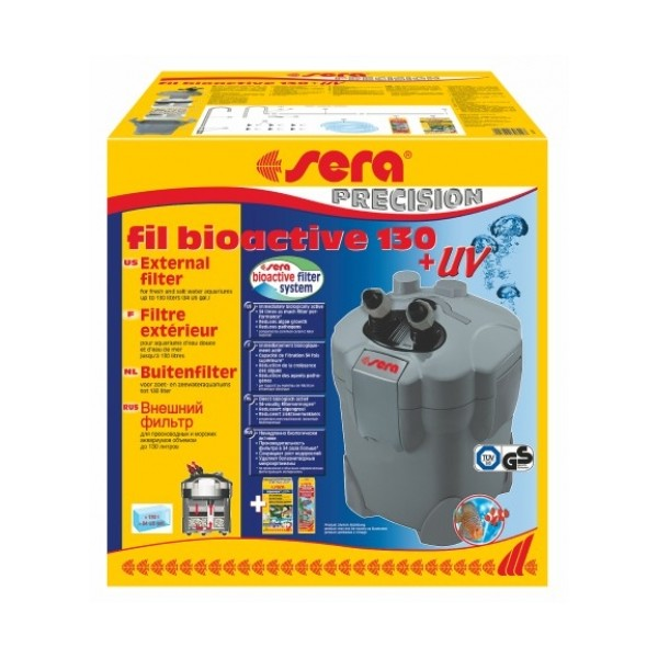 Sera fil Bioactive 130 + UV (до 130л)
